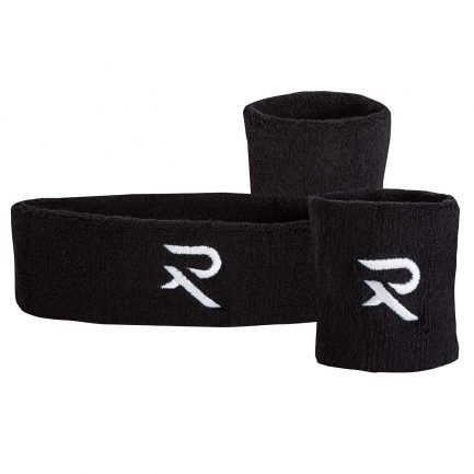 Black sweatband set