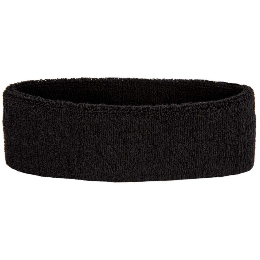 Raquex black headband back