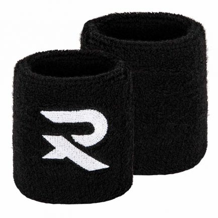 2 Raquex black wristbands