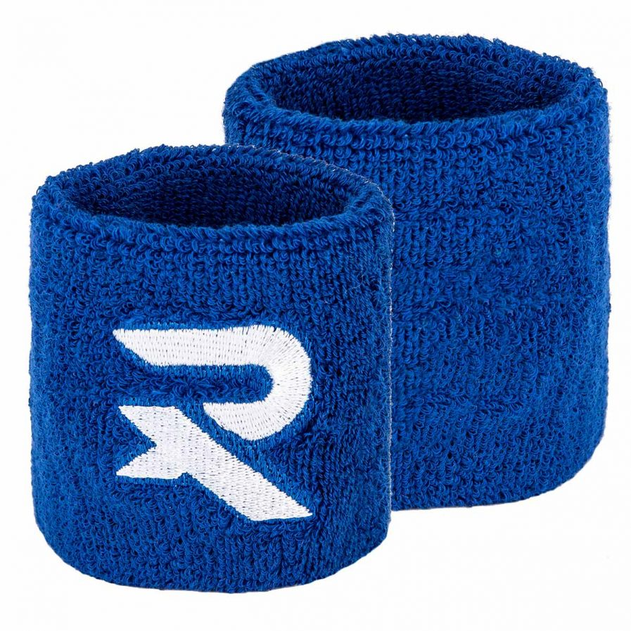 2 Raquex blue wristbands